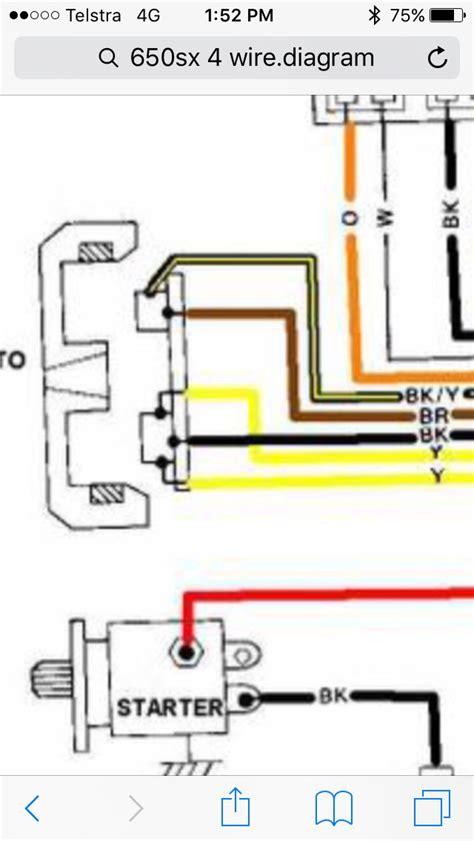 diagrams 6401136 kawasaki 650sx wiring diagram stator 4