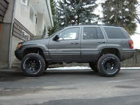 jeep wj 4 inch lift with 33s