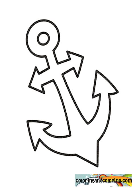 anchor coloring pages coloring pages