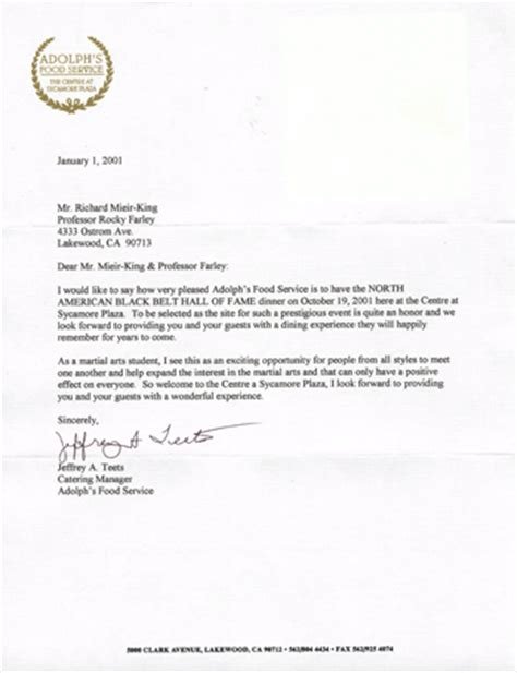 Endorsement Letter Mayor Letters Of Endorsement And A Proclamation Submitted In Honor Of The American Black Belt