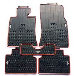 Mini Cooper Countryman Floor Mats Waterproof Original Style Rubber Car Foot Floor Mats