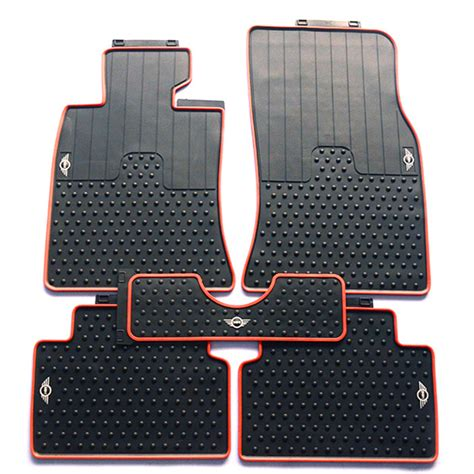 Mini Clubman Car Mats by Dedicated Waterproof Original Style Rubber Car Foot Floor