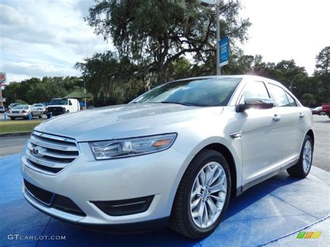 2014 Ford Taurus Limited Specs by 2014 Ingot Silver Ford Taurus Limited 87457554 Gtcarlot
