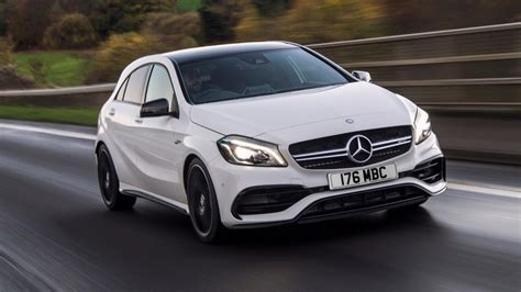 mercedes a45 amg review mercedes amg a45 review top gear