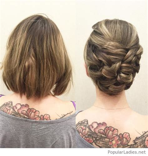 good haircuts calgary best 25 short bob updo ideas on pinterest