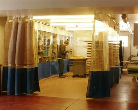 dust control curtains woodworking curtains dust control curtains industrial