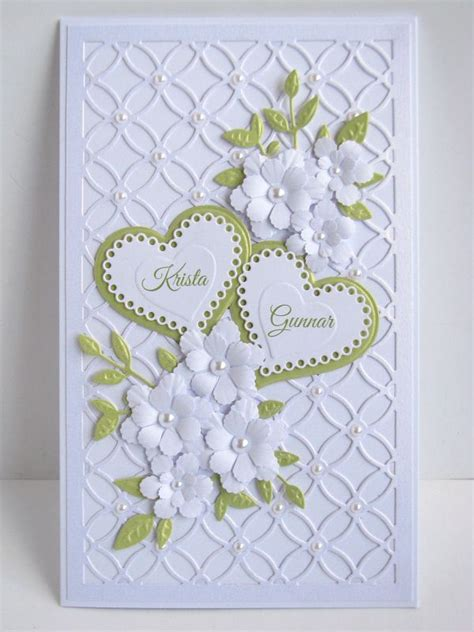 handmade wedding cards images  pinterest