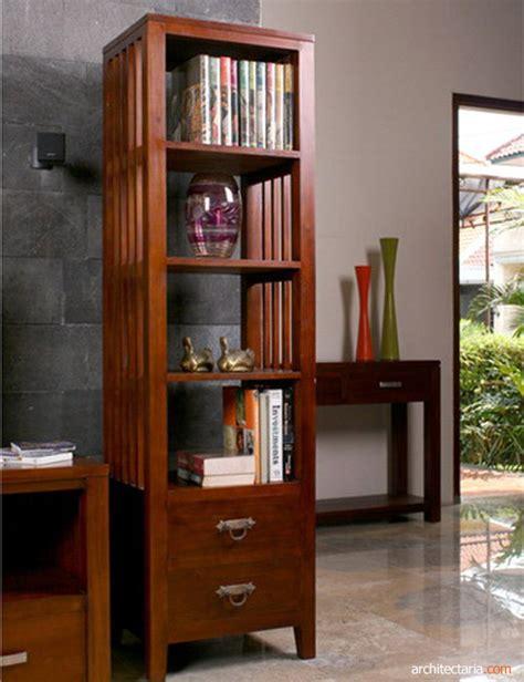 Rak Furnitur furniture berbahan dasar kayu rak buku kayu
