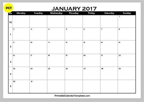 printable calendar 2017 printfree 2017 calendar printable one page 2017 printable calendar