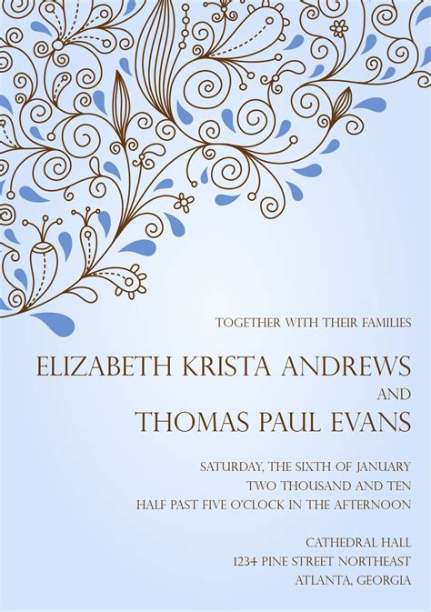 electronic wedding invitation card template wedding invitation wording wedding invitation electronic