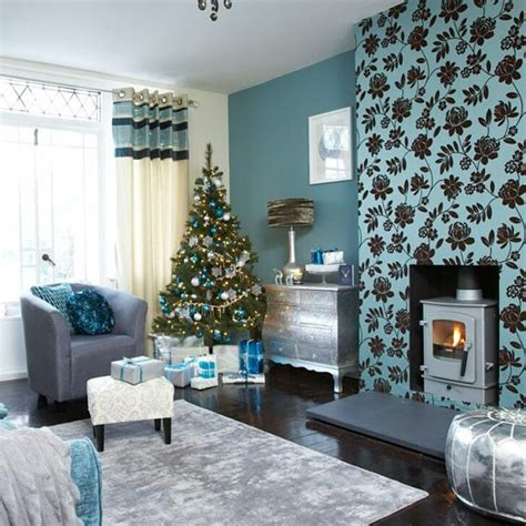 teal living room festive teal and silver living room scheme silver