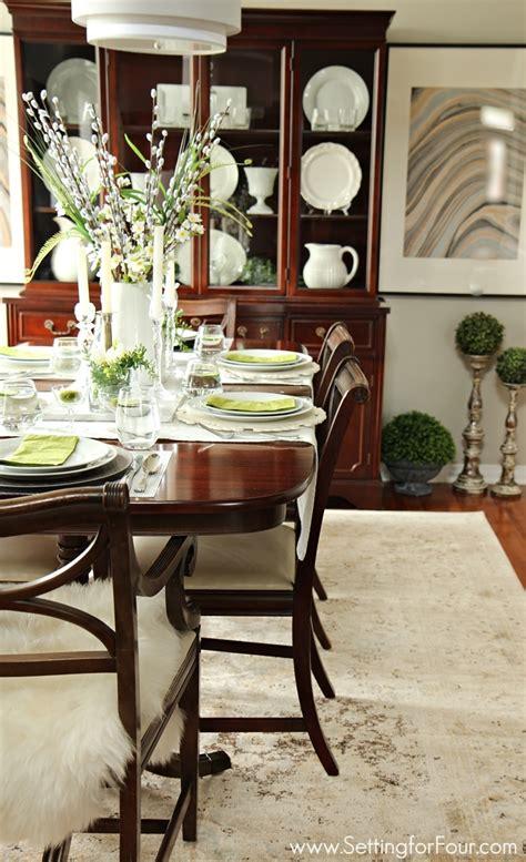 design tip   choose  perfect area rug setting