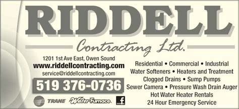 Riddell Plumbing by Plumbing Supplies Owen Sound