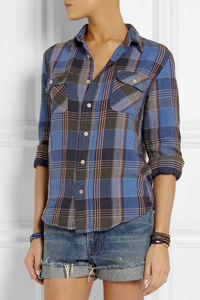 Are Levis Back In Fashion Again by Levi S Vintage Clothing Shorthorn Plaid Brushed Cotton