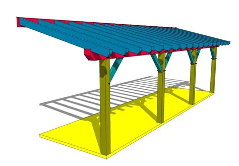 Shed Roof Timber by Timber Frame Shed Roof Plan Timber Frame Hq