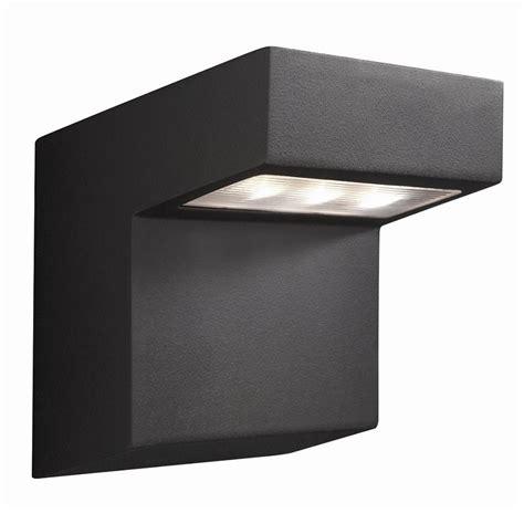 Downlight 3watt led au 223 enwandleuchte aus aluminium anthrazit downlight