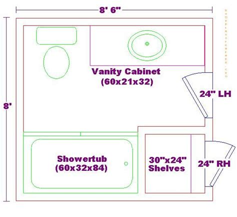 bathroom blueprints for 8x10 space home design 8x8 bathroom floor plan bathroom pinterest