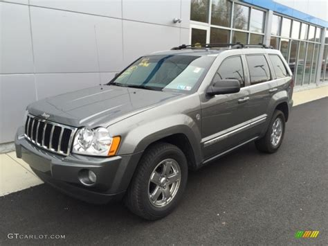 jeep cherokee gray 2007 mineral gray metallic jeep grand cherokee limited 4x4