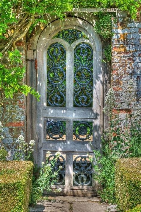 Garden Doors 25 Best Ideas About Garden Gates On
