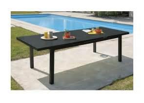table de jardin aluminium avec rallonge occasion jsscene