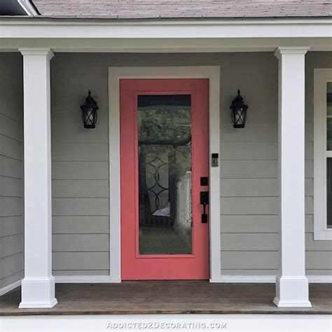 finished front porch columns and a few new photos of the