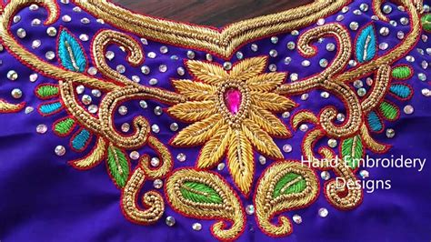 design patterns for embroidery zardosi work 2009 zardosi work designs for blouses bridal zardosi maggam