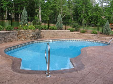 pools in backyards functional backyard design ideas for lounge space and