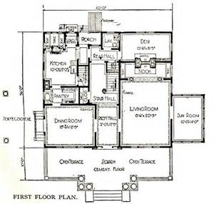The Notebook House Floor Plan The Notebook House Sears Modern Homes