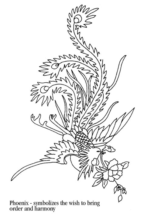 cute phoenix coloring pages coloring pages