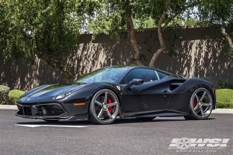 ferrari 488 custom 2016 ferrari 488 gtb with 21 22 quot vossen forged vps303 in