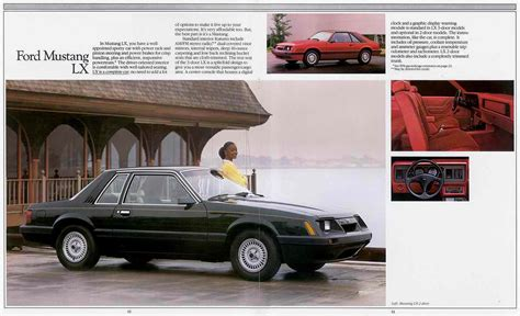 directory index ford mustang 1985 ford mustang 1985 ford mustang brochure