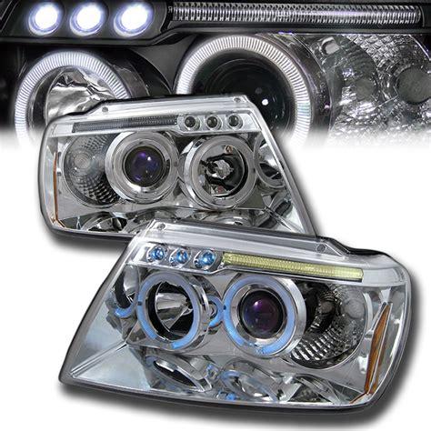 Led Headlights Jeep Grand 99 04 Jeep Grand Eye Halo Led Projector