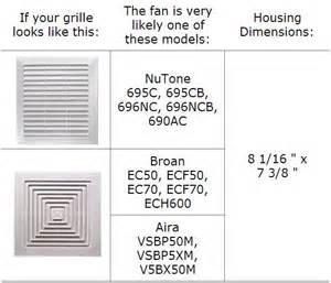 bathroom exhaust fan upgrade kit ec60kit bath and ventilation fans broan
