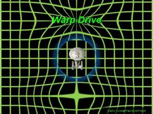 Expanding Light A Serendipitous Encounter With Warp Drive