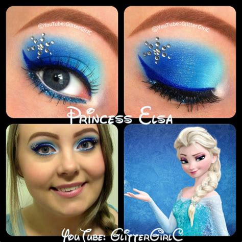 queen elsa makeup tutorial disney princess queen elsa from frozen makeup look