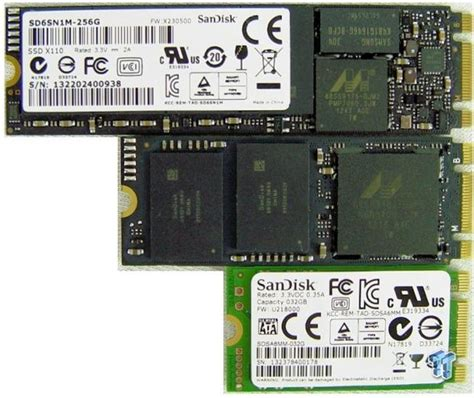 m part ii sandisk a110 256gb pcie m 2 ngff ssd review