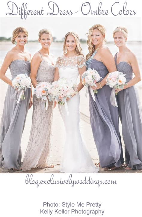 wedding styles picking your wedding color all about different bridesmaid dresses bridesmaid dresses