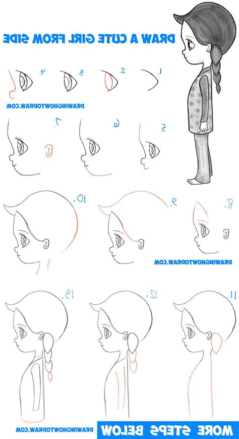 how to draw doodle characters step by step how to draw anime characters step by step for beginners