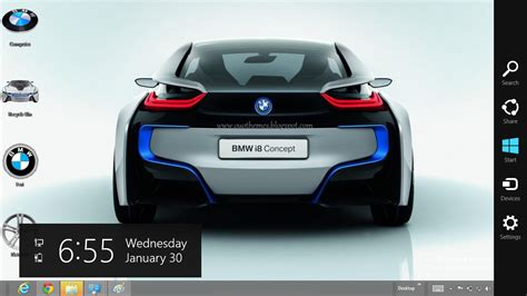 theme for windows 7 audi bmw hybrid i8 concept theme for windows 8 ouo themes