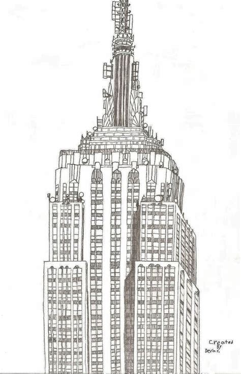 coloring book new york city empire state building by ny disney fan1955 on deviantart