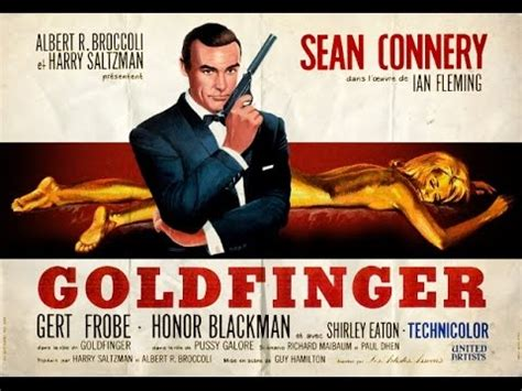 libro goldfinger james bond 007 1964 james bond goldfinger title sequence youtube