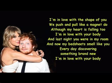 ed sheeran perfect girl version ed sheeran shape of you lyrics hostzin com music