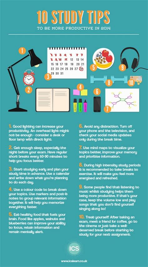 10 Tips To Help You Be A Great Hostess by 25 Study Infographs With Tips And Tricks To Help You Get