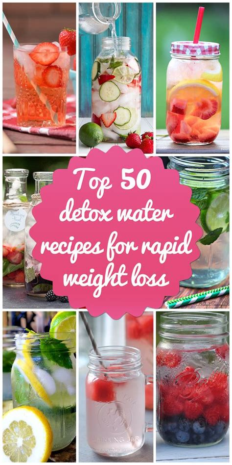 Rapid Weight Loss Detox Diet by Detox Waters Rapid Weight Loss And Water Recipes On