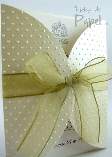 papel troquelado para invitaciones cecoc info invitaciones para grado hobby de papel