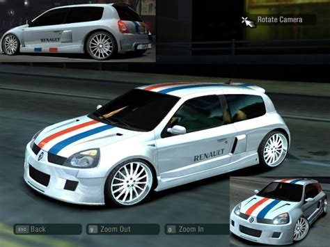 renault clio v6 nfs carbon renault clio v6 by cristikki need for speed carbon nfscars