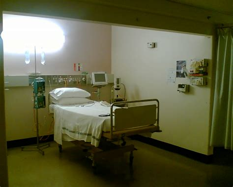 hospital rooms an animation in the hospital room