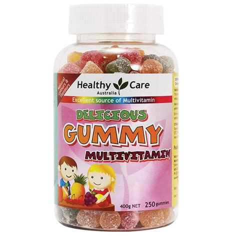 Vitamin Pentavite Healthy Care Gummy Multivitamin 250 Gummies Complete