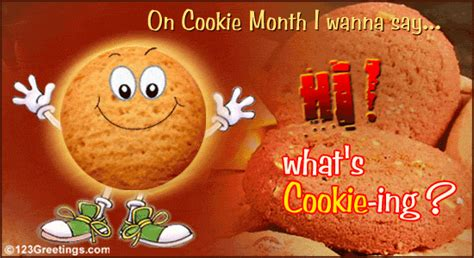 send cookie month wishes  cookie month ecards greeting cards