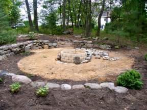 Backyard Pit Designs Backyard Design Ideas With Pit Large And Beautiful